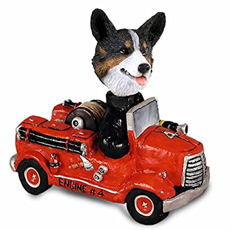 Amazon.com: Welsh Corgi chaqueta de punto Fire Engine Doogie ...