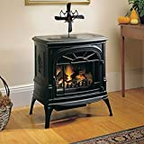 Wood Stove Heat Powered Fan ,H-COME Powerful Fireplace Fan with 4...