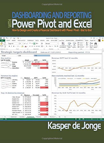 Download Dashboarding and Reporting with Power Pivot and Excel: How to Design and Create a Financial Dashboard with PowerPivot – End to End ebook