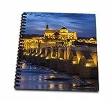 roman drawing - 3dRose Danita Delimont - Bridges - Spain, Andalusia. Cordoba. Roman bridge across the Guadalquivir river. - Drawing Book 8 x 8 inch (db_277894_1)