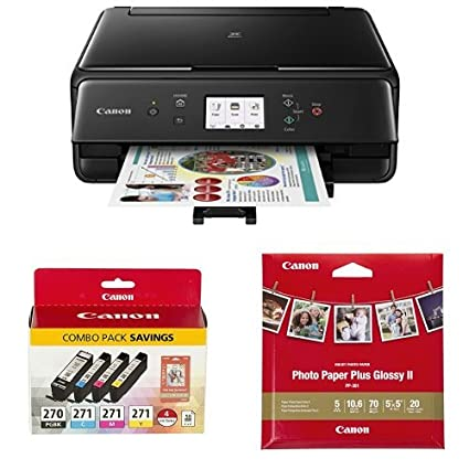 Canon Compact TS6020 Wireless Home Inkjet All In One Printer Copier Scanner