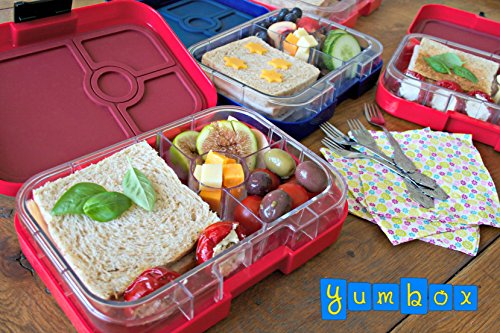 yumbox leakproof bento lunch box container blue kitchen in the uae see prices reviews and. Black Bedroom Furniture Sets. Home Design Ideas