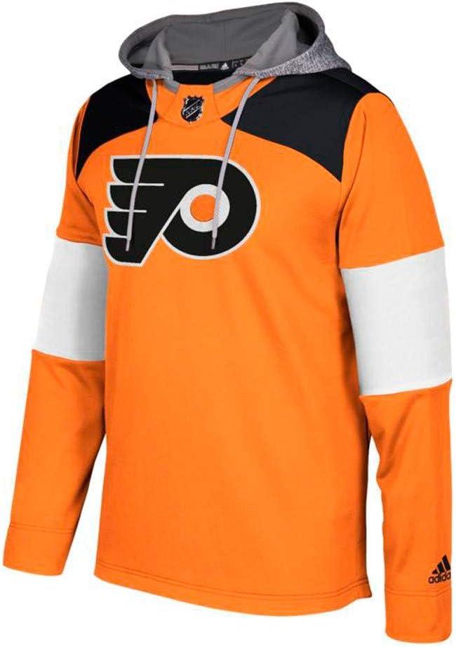 Philadelphia Flyers Black Signature Full-Zip Fleece Hooded Sweatshirt