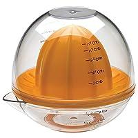 Prepworks de Progressive Dome Exprimidor de cítricos, Prensa de pomelo naranja lima lima, Manual, Exprimidor de limón manual