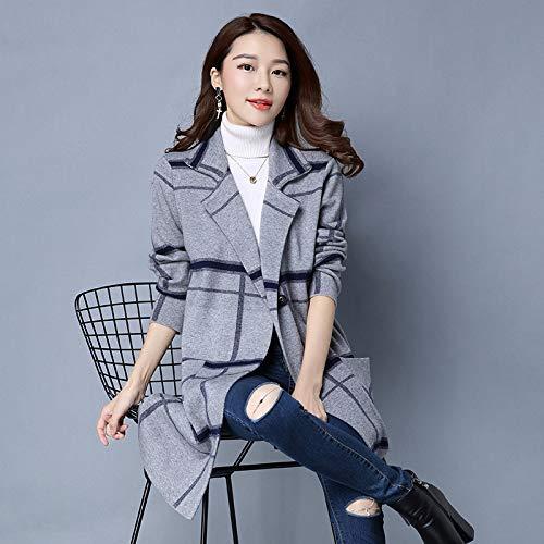 Gray Pour Et Femme Confortable D'hiver Décontractée Vêtements D'automne Veste Chaude Femme 1 Femmes Lavée Liuxc qtXHOO