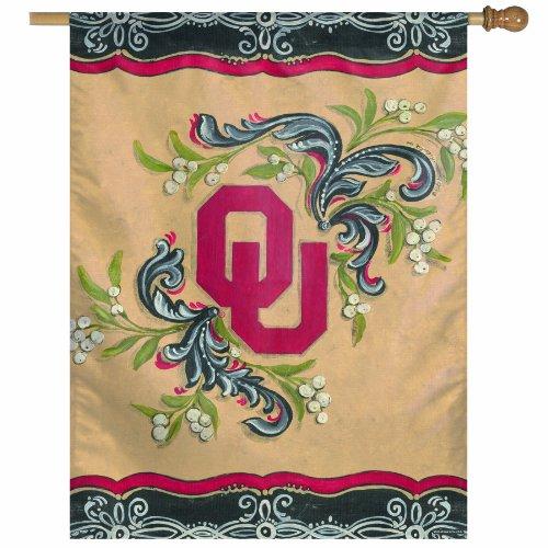 NCAA Oklahoma Sooners 27-by-37 Inch Vertical Flag - Kate Mcrostie