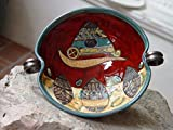 Unique Pottery Bowl – Hand Painted Ceramic Fruit Dish – Pottery Decor – Fruit Platter – Danko Handmade Pottery – Anniversary Gift