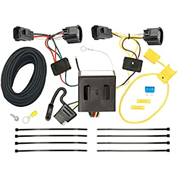 511BzZh01pL._SL500_AC_SS350_ amazon com reese plug and play hitch wiring trailer lights for Trailer Wiring Harness at gsmportal.co