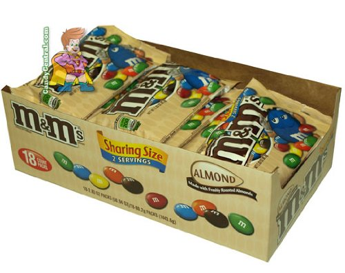M&M's Almond King Size 18 Count -