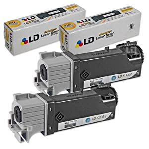 LD © Dell 1320c / 1320 Black Toner - Compatible Replacement for Dell KU052 (310-9058) High Yield Laser Toner Cartridge