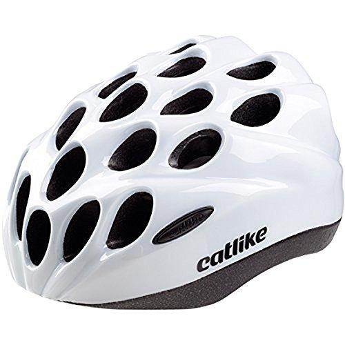 Catlike Tora SV Casco de la bici, tamaño mediano), color blanco