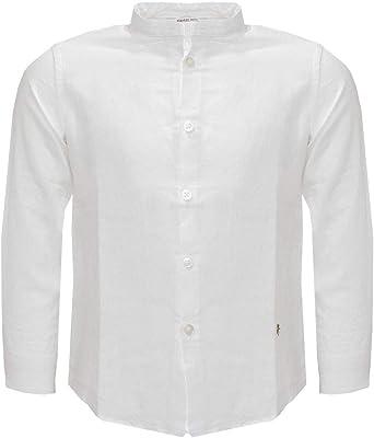MANUEL RITZ Camisa Guru de niño Bianco 152 cm/12 años: Amazon ...