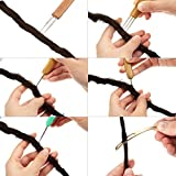 11 Pieces Dreadlocks Tool Set, Includes