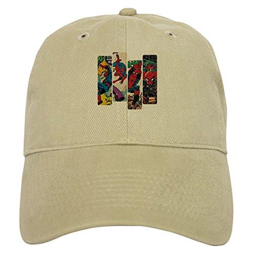 CafePress Spiderman Comic Panel Baseball Cap with Adjustable Closure, Unique Printed Baseball Hat