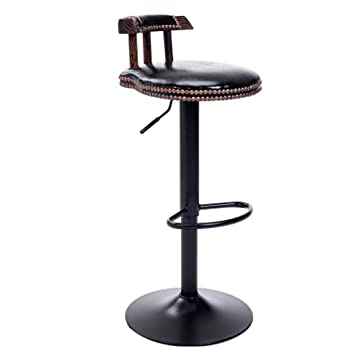 Amazoncom Nwn American Wrought Iron Bar Chair Retro Household Lift