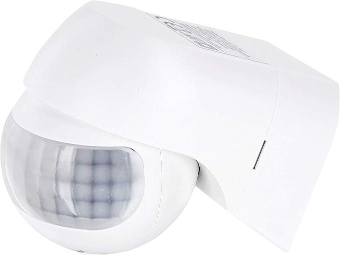 Aufputz Slim infrarrojos Detector de movimiento IP44 180 ° 230 V – para zonas húmedas exterior