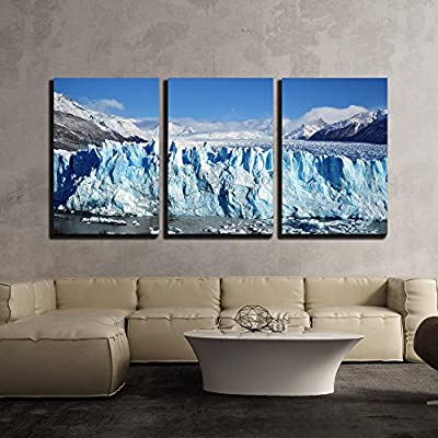 That You Will Love, Fascinating Visual, Glacier Landscape and Iceberg x3 Panels