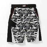 Kids Boy Black White Camo Swimsuit Trunk Shorts Size M 8