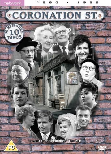Coronation Street The 1960s 10 Disc Box Set Dvd Amazon
