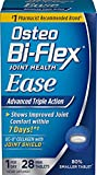 Osteo Bi-Flex Joint Health Ease Mini Tabs 1 a day Advanced Triple Action UC-II Collagen Formula 4 Pack ( 112 Count Total ) Osteo-TM