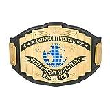 WWE Black Intercontinental Championship Replica Title Belt black