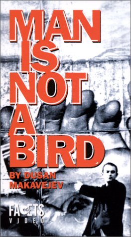 Man Is Not a Bird VHS