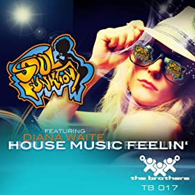House music feelin 39 feat diana waite for Classic house music mix