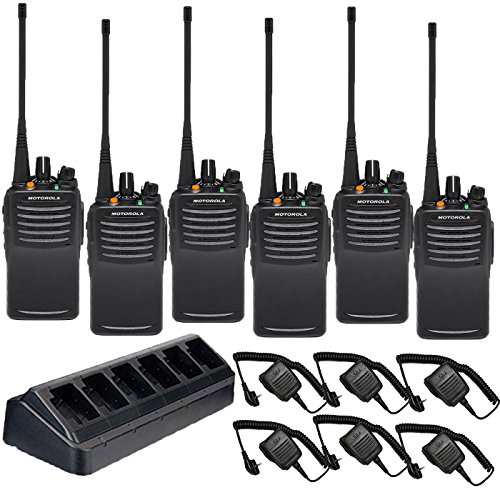 Motorola Intrinsically Safe VX-451 UHF PREPROGRAMMED 6 Pack with Speaker Mics and Multi-Charger