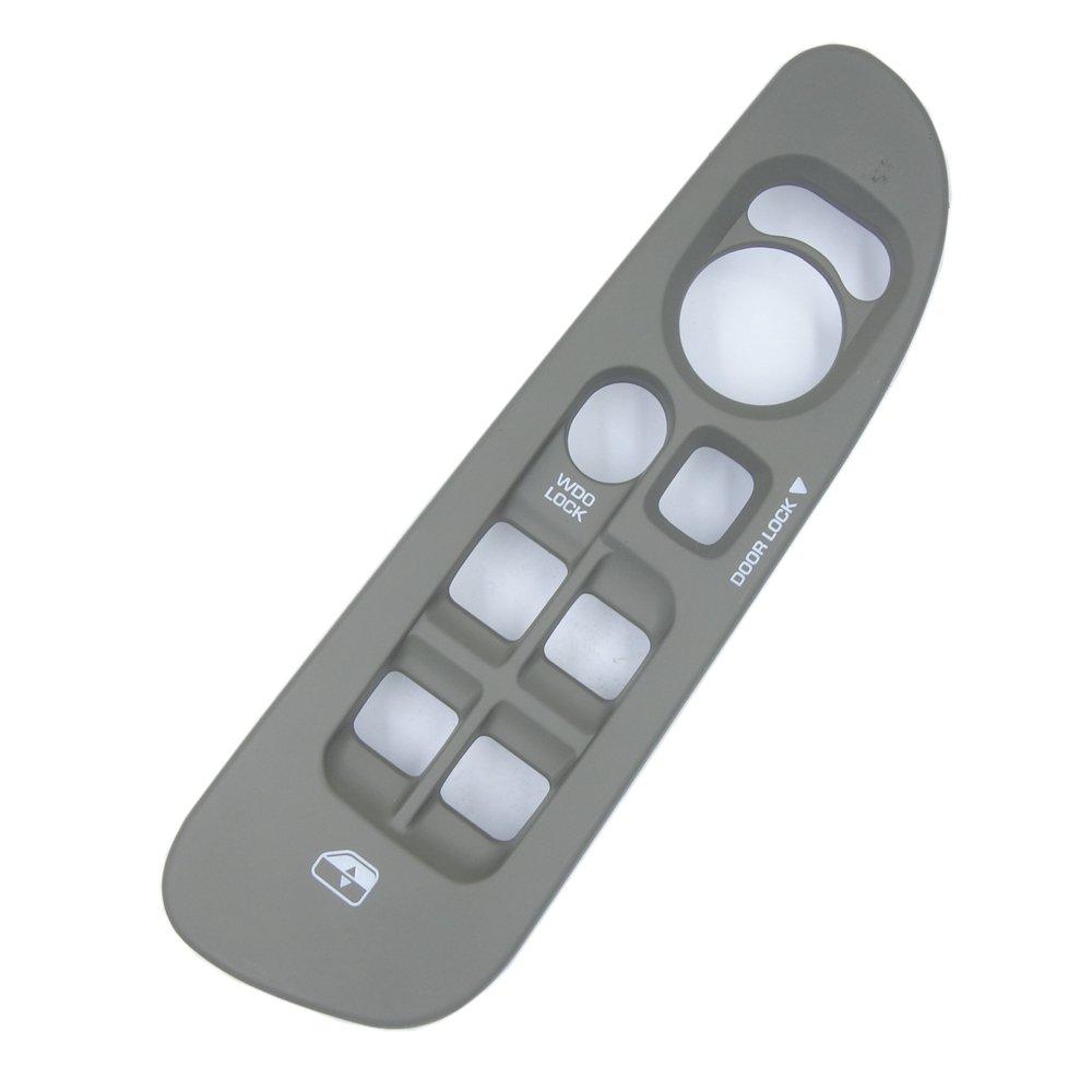 Master Power Window Control Switch Panel Trim Bezel for Dodge Ram 1500 2500 3500 5HZ71WL5AE Black