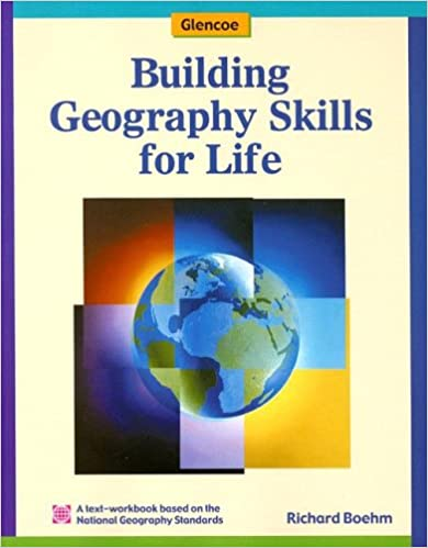 Worksheet Glencoe World Geography Worksheets building geography skills for life student text workbook glencoe world edition