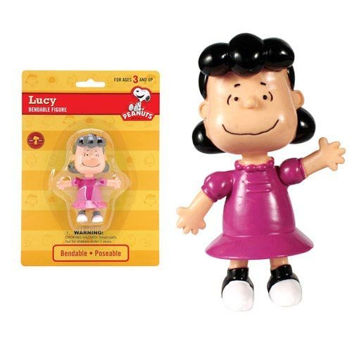 Peanuts Lucy 3.6 inch Bendable Figure