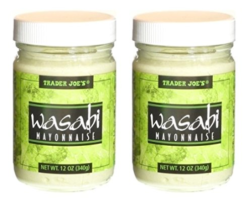 Trader Joe's Wasabi Mayonnaise (Pack of 2) 12-oz Jars