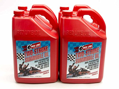 REDLINE OIL 41025 Two Cycle Snowmobile Oil Case/4-Gal (Redline 2 Cycle compare prices)
