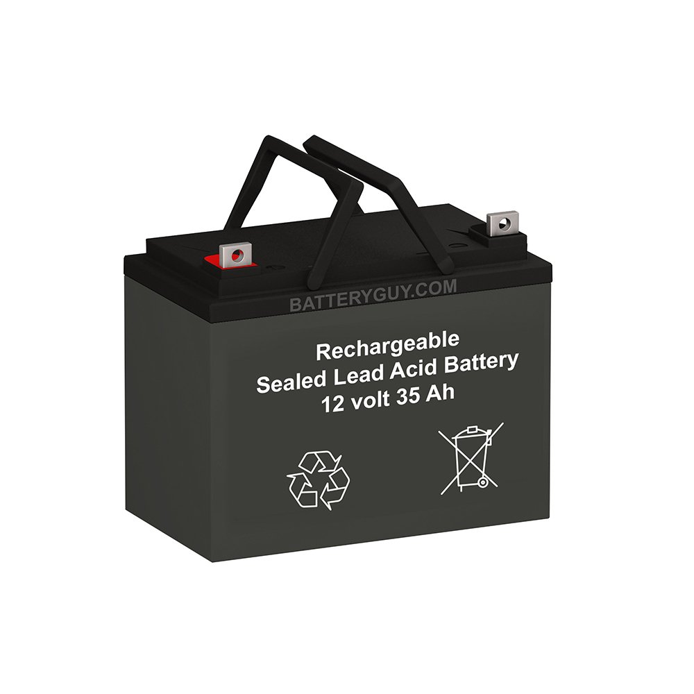 Gravely PROFESSIONAL 8 replacement battery (rechargeable) by BatteryGuy (Image #1)
