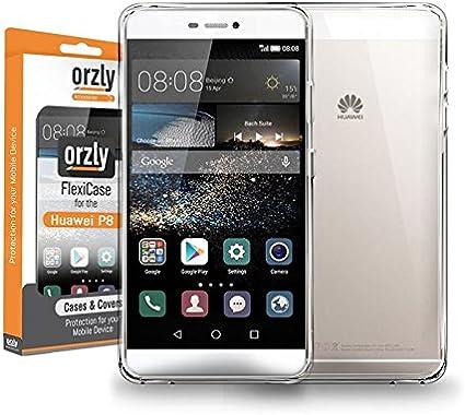 Orzly® - FlexiCase para Huawei P8 Smartphone (5,2 Pulgadas Modelo ...