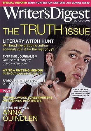 Writer's Digest [Print + Kindle]: Amazon com: Magazines