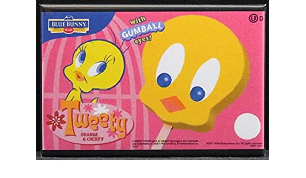 Amazoncom Tweety Bird Ice Cream Bars Refrigerator Magnet Kitchen
