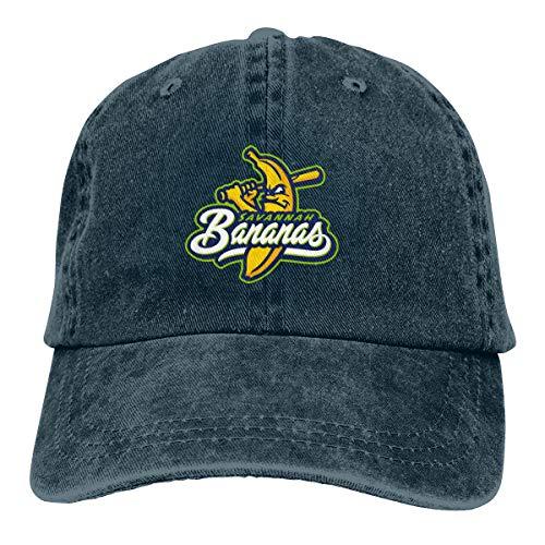 ASDD Savannah Bananas Unisex Denim Dad Hats Adjustable Baseball Cap -