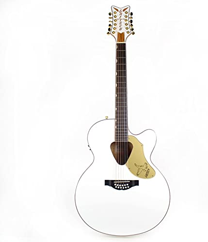 Gretsch G5022CWFE-12 Rancher Falcon White 12-String Acoustic
