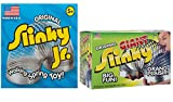 Slinky ORIGINAL JR + GIANT METAL, VALUE PACK!