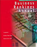 Business Rankings Annual : Cumulative Index, Thomson Gale Staff, 0787637823