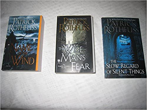 3 Book Set Of The Kingkiller Chronicle Series The Name Of The Wind