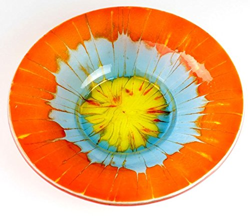 Large Round Slumping Drop Out Ring - Makes Bowls All In 1 Step - Fusible Glass Slumping Mold