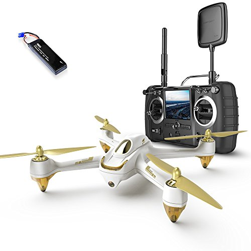 HUBSAN X4 H501S Pro Version GPS 5.8GHz Transmitter FPV with 1080P HD Camera RC Quadcopter RTH (H501S pro White)