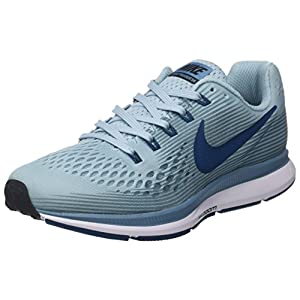 Nike Women's Air Zoom Pegasus 34 Running Shoes (Ocean Bliss/Blue Force, 8 M US)