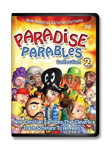 Paradise Parables-2 Scripture-Cartoon-DVDs for Kids, Cartoons for Kids-Comedy-Adventure Time-Bible Based Teaching-Cartoon Characters-Animals-Animation-Christian Music for Kids (Cartoon For Kids Dvd)