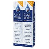 Best Coral Calciums - Coral White - Natural Fluoride Toothpaste Tea Tree Review