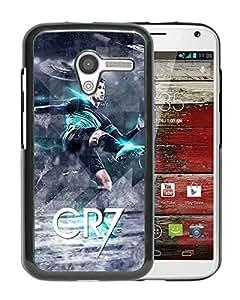 Beautiful Designed Cover Case For Motorola Moto X With Cristiano Ronaldo Black Phone Case