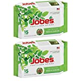 Jobe's Tree Fertilizer Spikes, 16-4-4 Time Release Fertilizer for All Shrubs & Trees, 15 Spikes per Package - 2