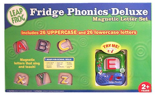 Fridge Phonics Fridge - Fridge Phonics Deluxe Magnetic Letter Alphabet Set